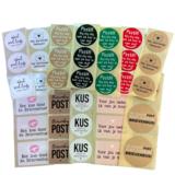 Stickerset post p/36st