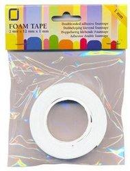 Foam tape dubbelzijdig 1mm p/2mtr