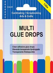 Glue drops multi 2 mm per set