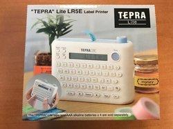 Labelprinter tepra lite thermisch incl 1 rol tape 90x115x37mm p/st