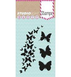 Clear stamp Basics Vlinders A7 per stuk