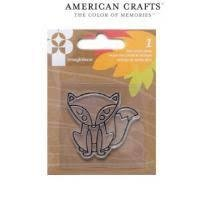 Clear stamp give thanks fox p/st