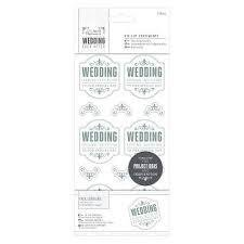 Die cuts Wedding Silver/White 10 x 20 cm per set diverse kleuren