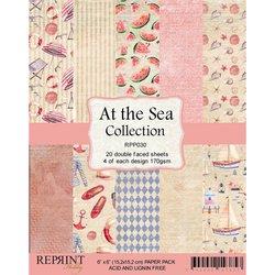Paper pad 15x15cm At the Sea p/set