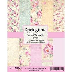 Paper pad 15x15cm Springtime p/set