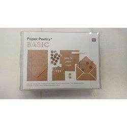 Envelop 8.1x11.4cm p/15st kraft met kaartje A7/C7