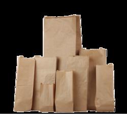 Zakken bruin suikerzak 22x4.5x57.5cm p/25st