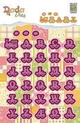 Stans DADA Baby alphabet train letters  20 mm per stuk