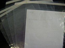 Envelop 300x400mm 45mu p/50st transparant met klep