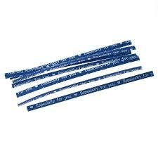 Binders blauw/wit especially for you p/25st