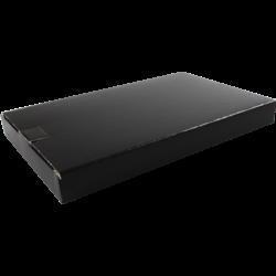 Brievenbusdoos A5 160x28x255mm p/25st zwart