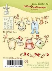 Clear stamp Baby things p/st