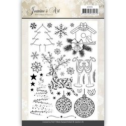 Clear stamp Christmas Classics p/st