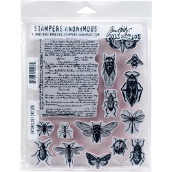 Clear stamp Entomology A5 p/st