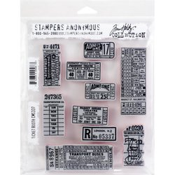 Clear stamp Ticket Booth behorende bij 662698 die ticket A6 per stuk