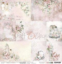 Decoratieve kaartjes Love me Forever 30.5x30.5cm p/vel