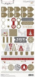 Decorative Stickers Teresa Collins Tinsel & Company  p/43st