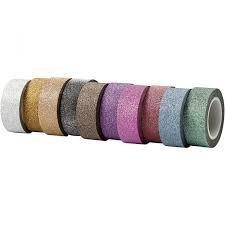 Masking tape roze 10mm p/6mtr plakt niet goed