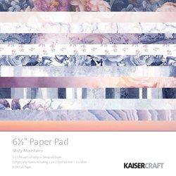 Paper pad misty mountains 16.5x16.5cm p/set