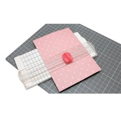 Papiersnijder fuchsia mini 6.5x15.3cm p/st