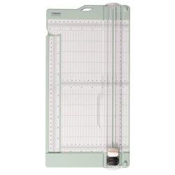 Papiersnijder mintgroen met rilfunctie 15x30.5cm p/st
