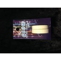 Plakband tape glow in the dark  10 mm inhoud 6 meter