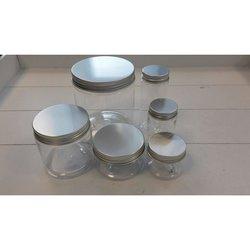 Pot 4.3x4cm p/st schroef plastic transparant