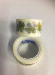 Masking tape blaadjes 20mm p/5m diverse kleuren