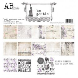 Paper pad 30.5x30.5cm Be Gentle p/9vel