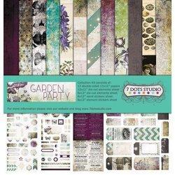 Paper pad Garden Party Collection Kit 30.5x30.5cm p/set