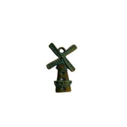 Bedel molen koper/groen 2.5cm p/st