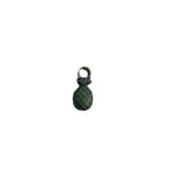 Bedel ananas koper/groen 7x22mm p/st