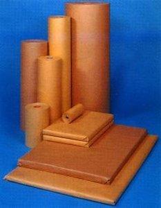 Inpakpapier 70 grams 120 cm inhoud 350 meter bruin