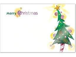 Kadolabels Kerst feest boom 5.7 x 8.9 cm inhoud 5 stuks