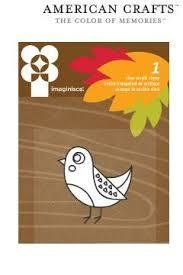 Clear stamp give thanks bird p/st