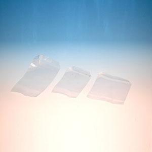 PP zakjes 12x12cm p/100st plakstrook en klep