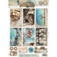 Accessoire set winter memories  inhoud 21 stuks