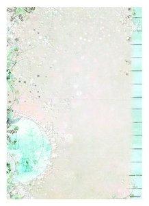 Achtergrond papier Basis Sweet Winter Season nr 207 A4 per vel