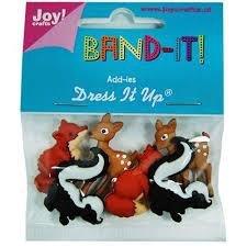 Add-ies Band It nr 4 bosdieren  per zakje