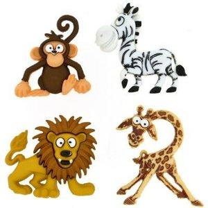 Add-ies safari wilde dieren p/4st
