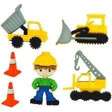 Add-ies werkzone bouwmannetje en gereedschap p/6st