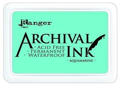 Archival ink pad aquamarine p/st