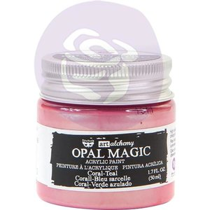 Verf roze/blauw Art Alchemy Opal Magic Acrylic Paint p/50ml Coral-Teal
