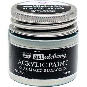 Verf Blauw/paars Art Alchemy Opal Magic Acrylic Paint p/50ml Blue-Violet