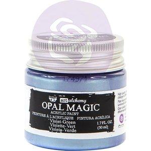 Verf paars/groen Art Alchemy Opal Magic Acrylic Paint p/50ml Violet-green