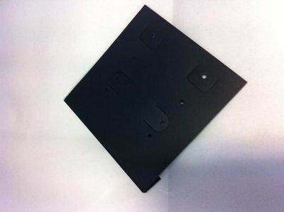 Byoux kaartjes hard plastic 60 x 69 mm inhoud 25 stuks zwart