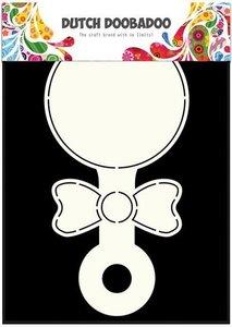 Card art Baby Rattle A5 per stuk