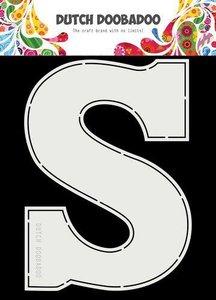 Card Art Chocolade letter ÔSÔ A5 per stuk