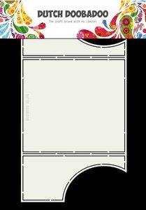 Card art drieluik Cirkel A4 per stuk