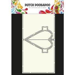 Card art hart Pop Up A4 per stuk